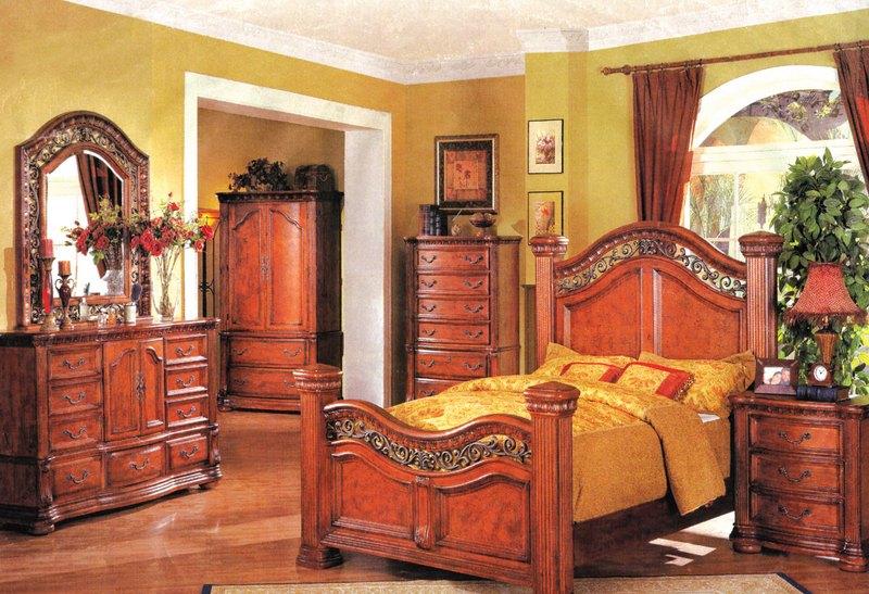 This bedroom suite give your bedroom best look