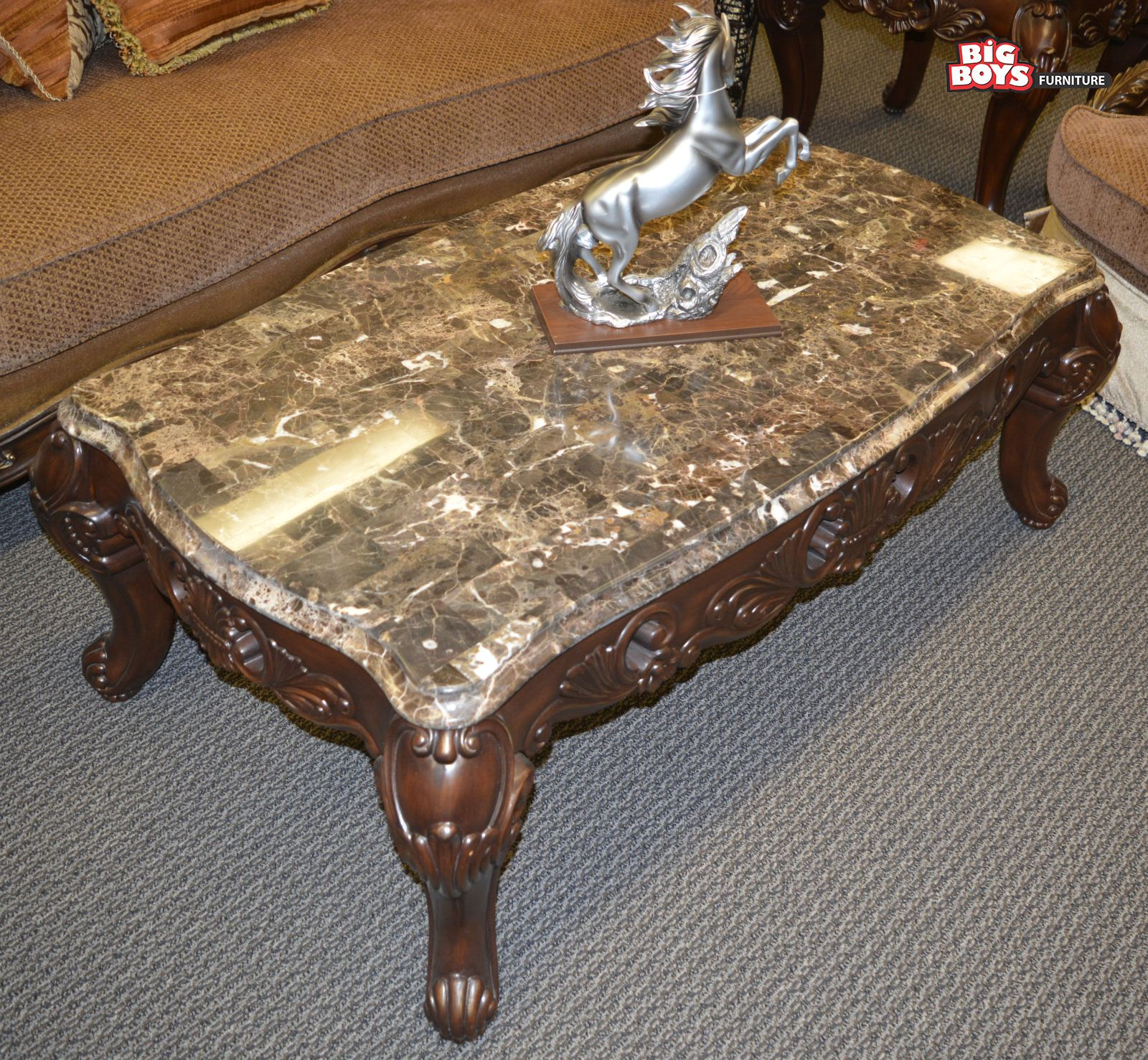 Big Boys Furniture give discount on beautiful center table with latest desings