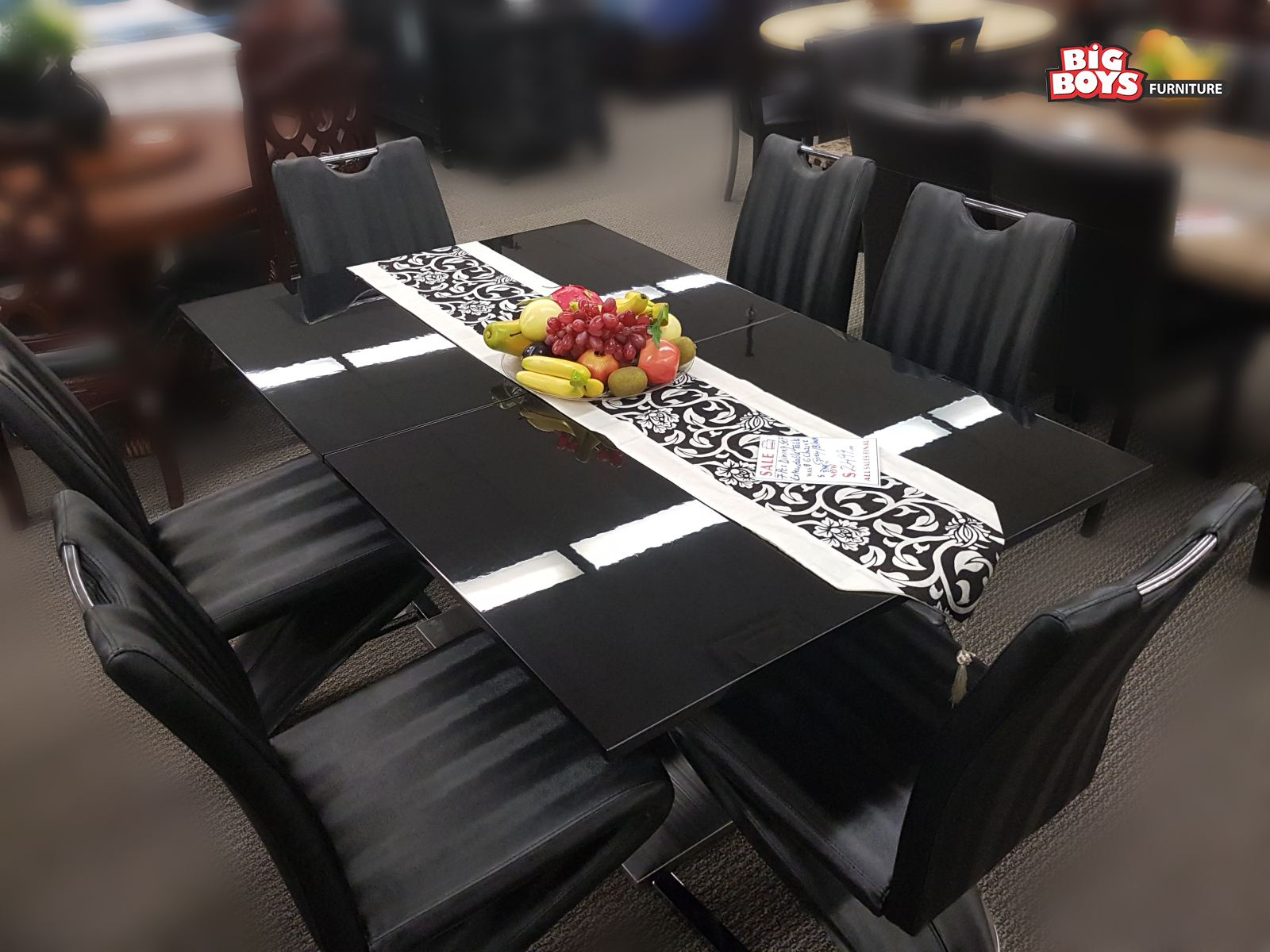Unique designs in Dinning Sets at Big Boys Furniture