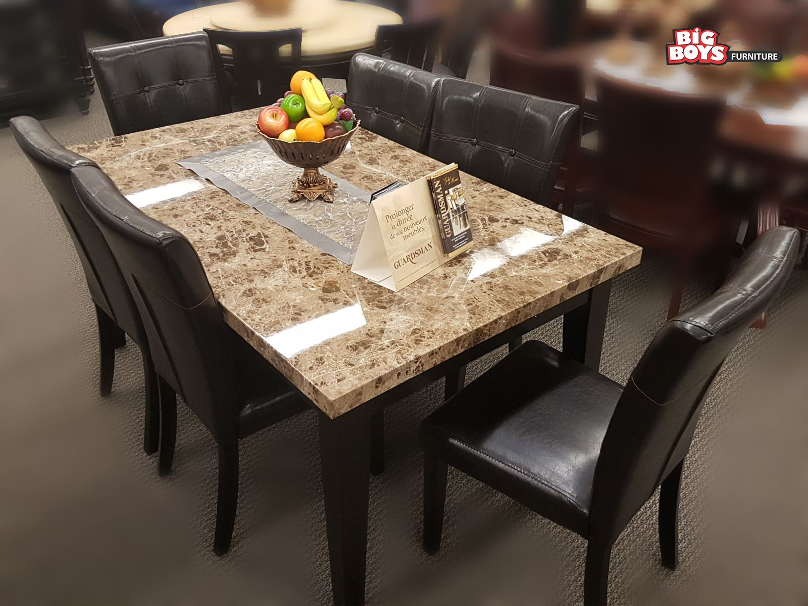 Latest designs of Dinning sets available at Big Boys Furniture