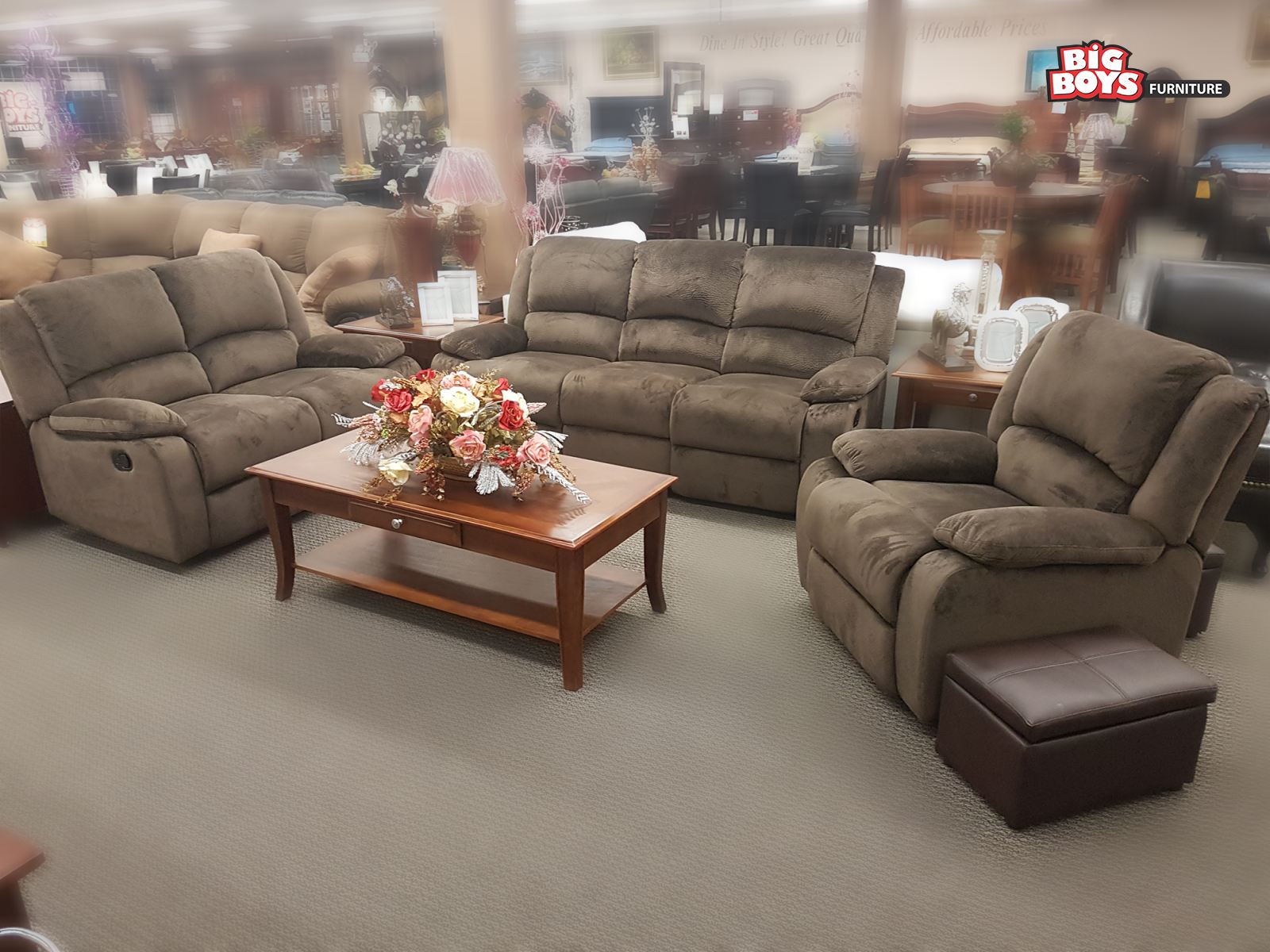 Sofa Sets - Big Boys Furniture