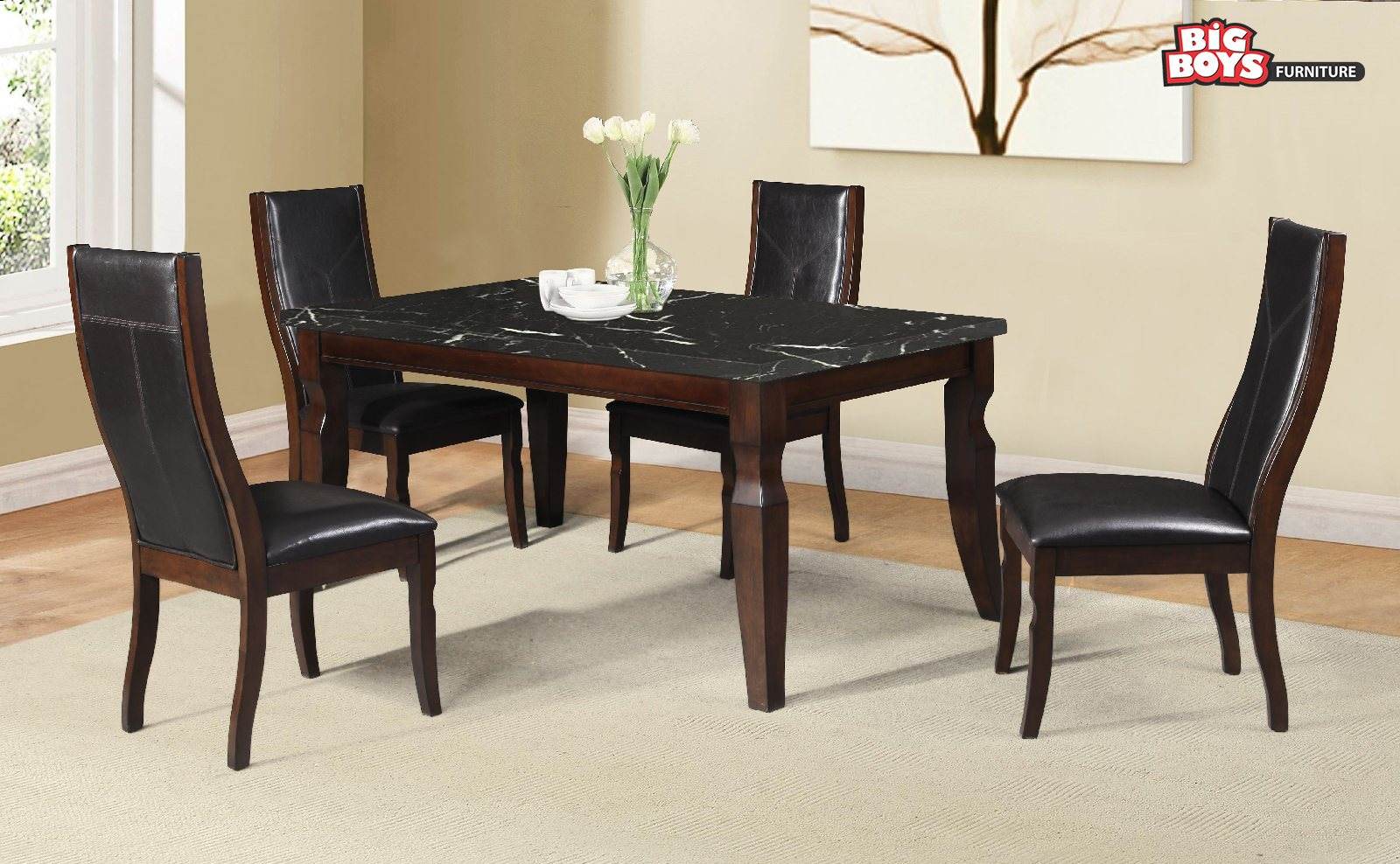 Dining Set Big-Boys-Furniture-Delta-6266-DR-1