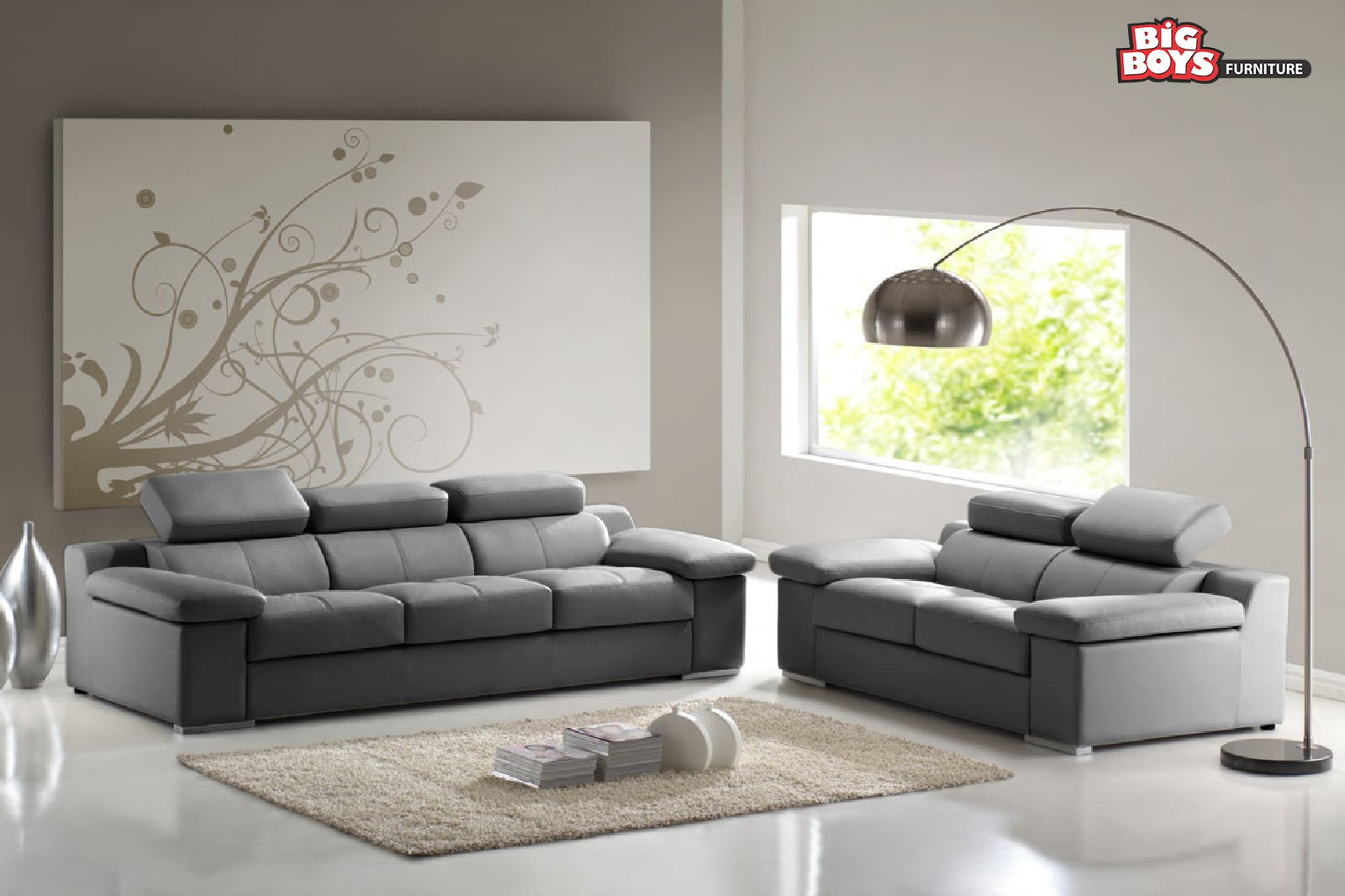 Latest designs of Sofa Sets available at Big Boys Furniture