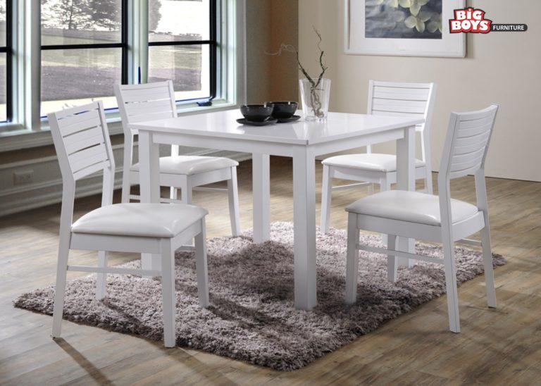 White Chairs and Tables- Big-Boys-Furniture