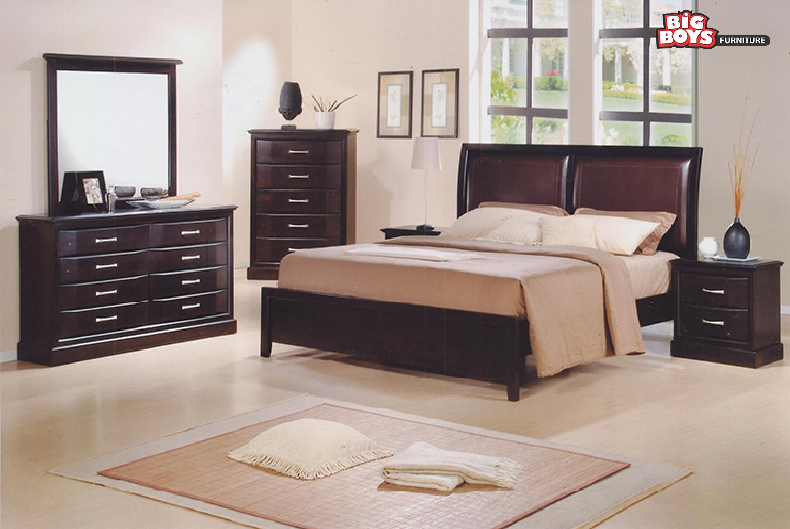 Bedroom suites at discounted prices available at Big Boys Furniture Delta/Surrey