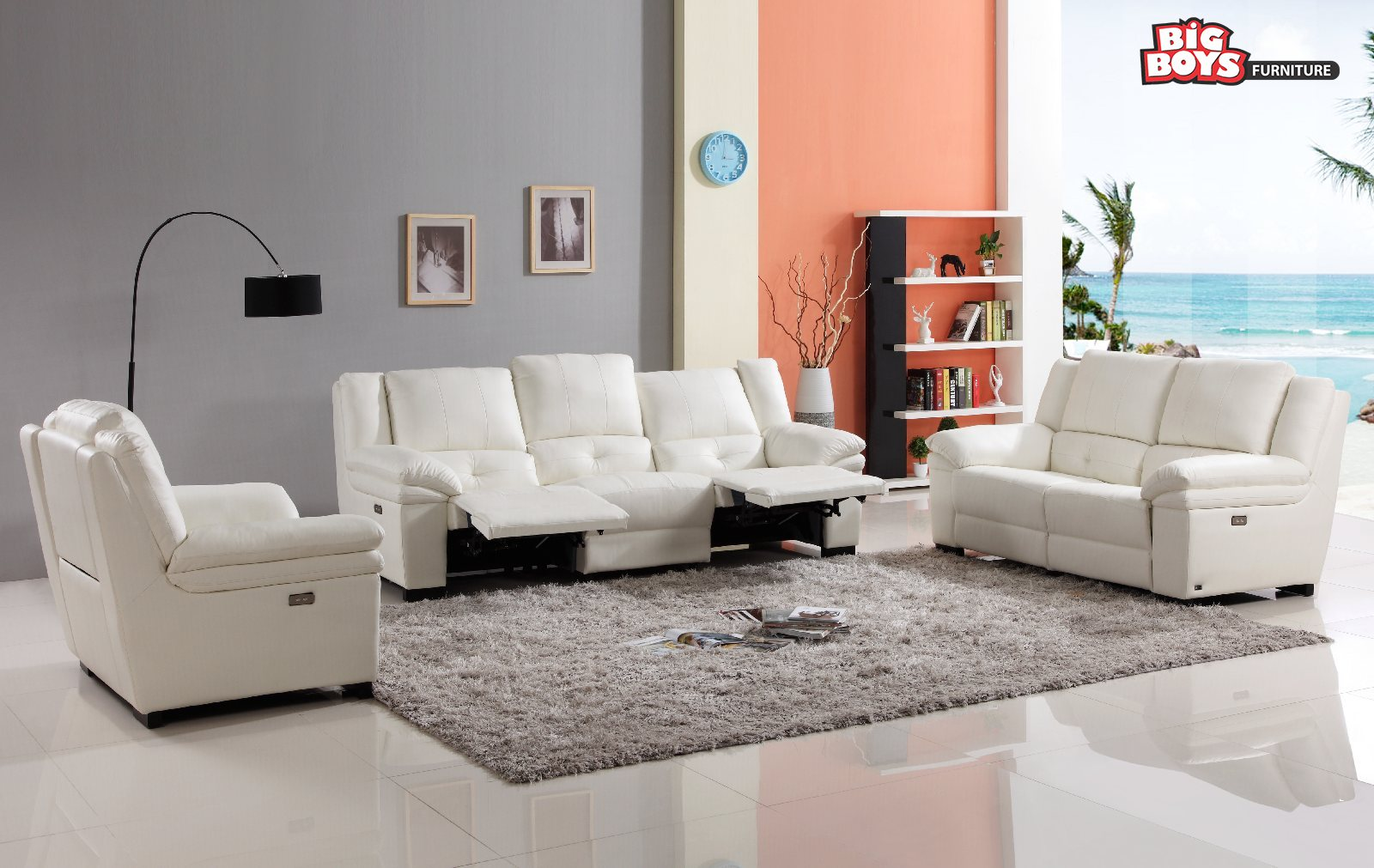 Sofa Set with unique designs and shapes