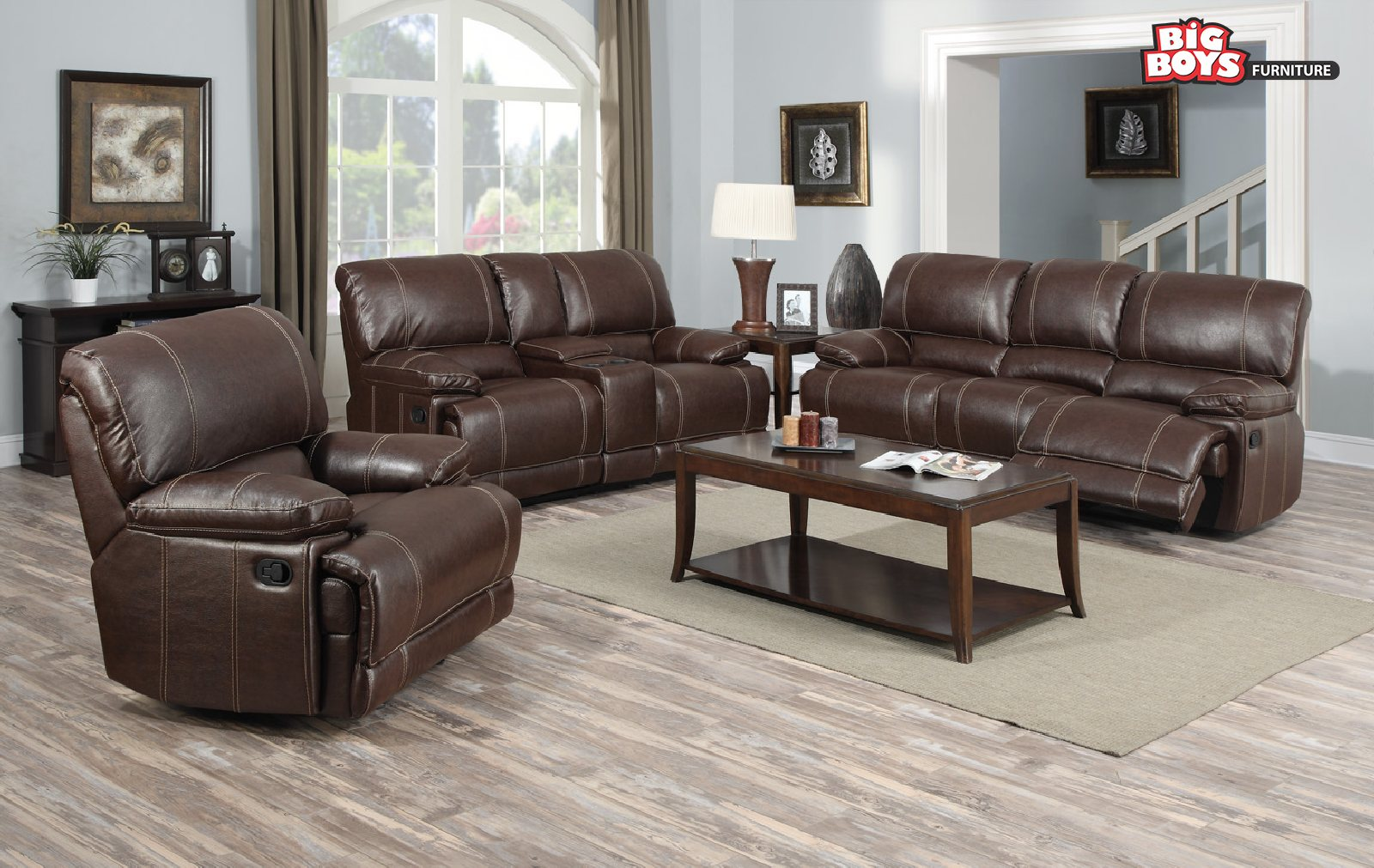 Big Boys Furniture offers discounts on Sofa Sets