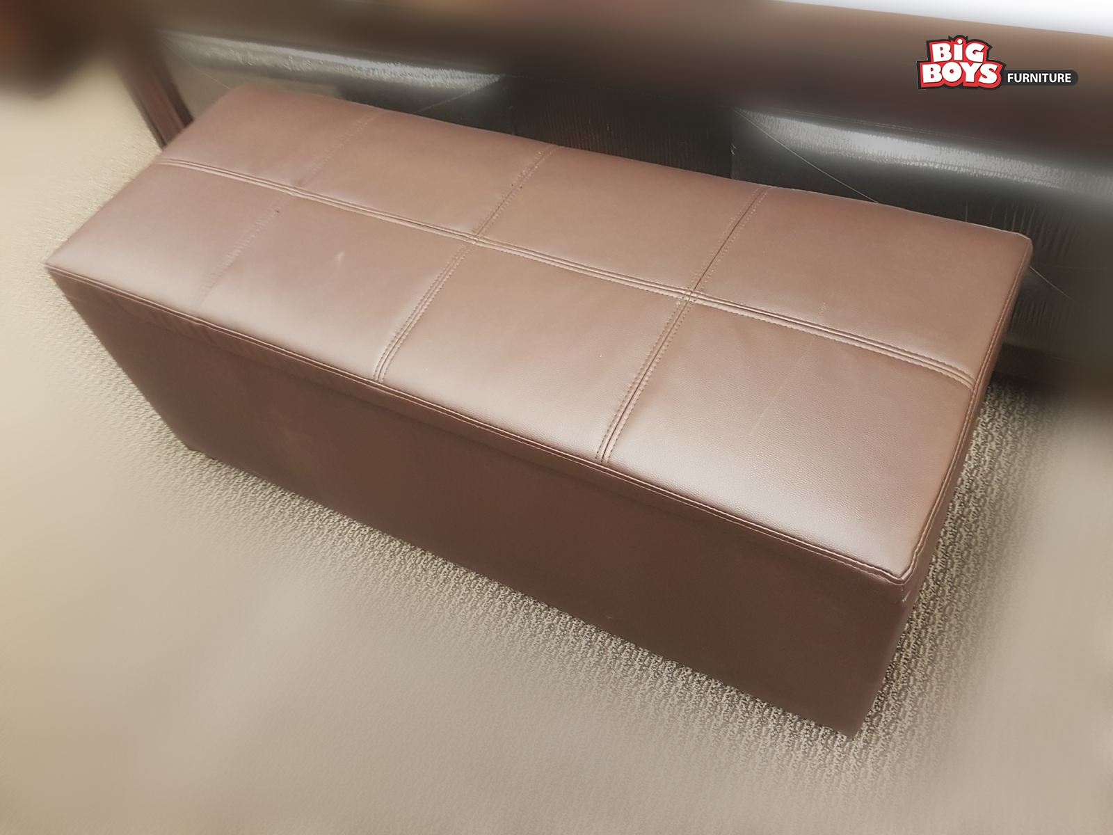 For best deals on ottomans and benches visit us at Big Boys Furniture Delta/Surrey