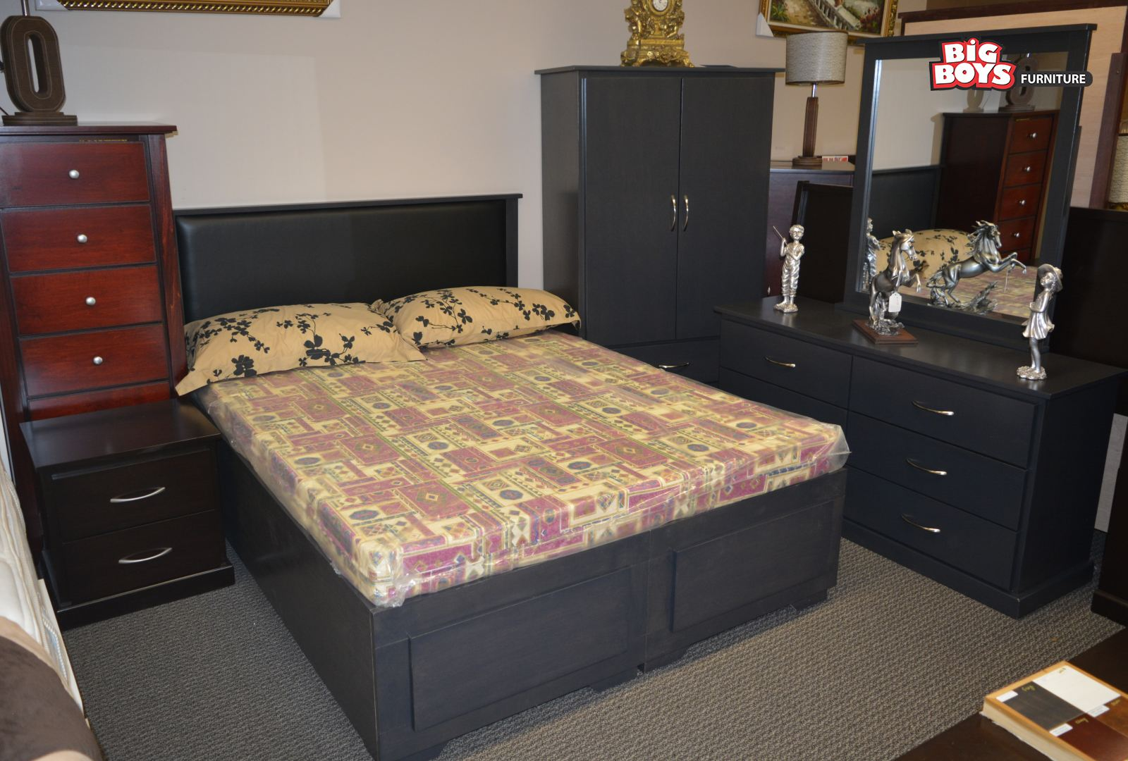 custom made bedroom suites big boys furniture. Black Bedroom Furniture Sets. Home Design Ideas