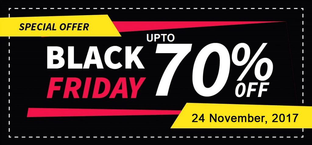 Black Friday Sales Specials – 23 & 24 Nov 2017