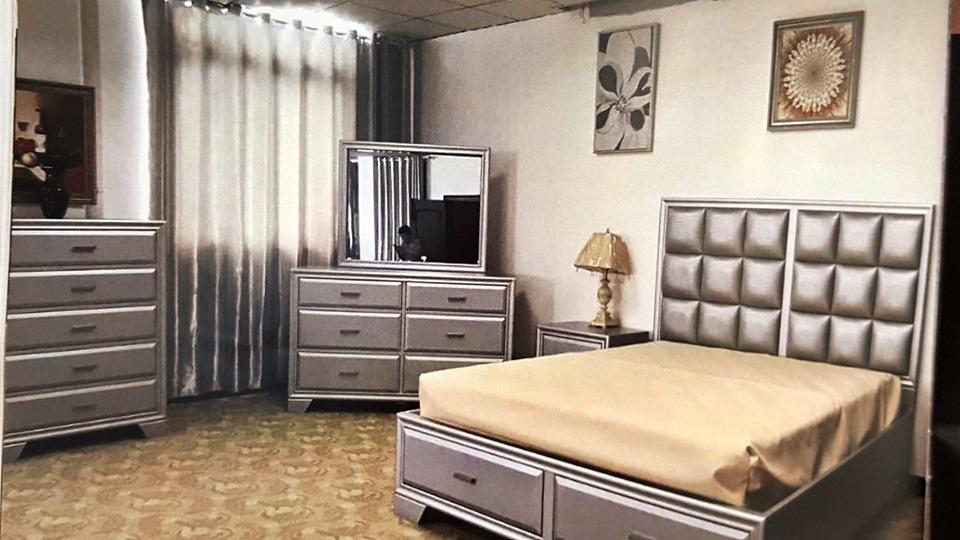 Brand New 8 Piece Bedroom Suite – BBBS0006