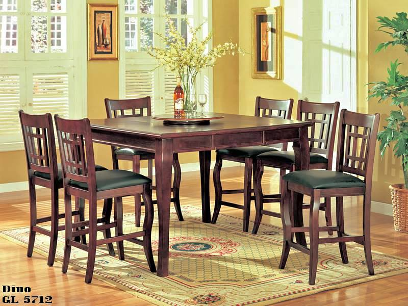Brand New 7 Piece Counter Height Dining Set – BBD0009