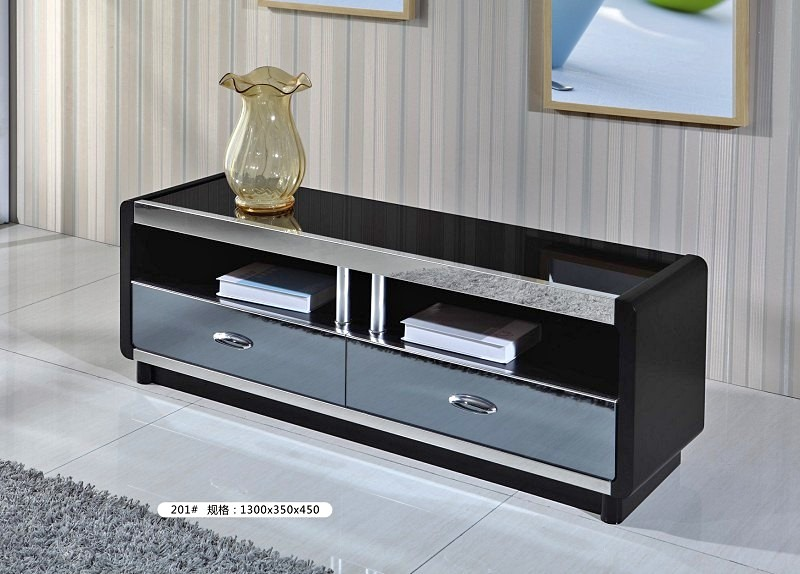 ELEGANT BLACK TV STAND ON SALE- BBTS0001